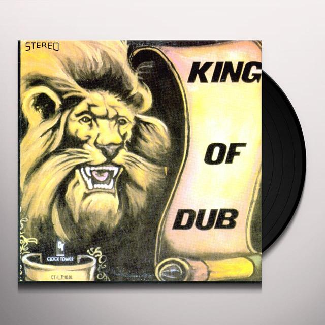 King Tubby KING OF DUB Vinyl Record