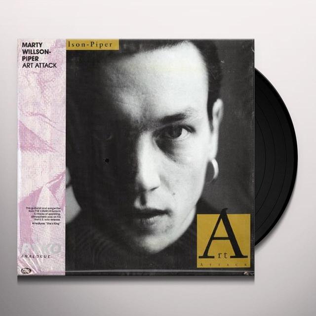 Marty Willson-Piper ART ATTACK Vinyl Record - Gatefold Sleeve