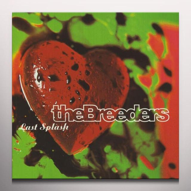 The Breeders LAST SPLASH Vinyl Record - Colored Vinyl, Red Vinyl