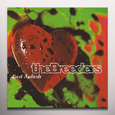 The Breeders LAST SPLASH Vinyl Record - Colored Vinyl, Red Vinyl