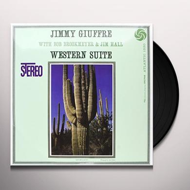 Jimmy Giuffre WESTERN SUITE Vinyl Record - 180 Gram Pressing