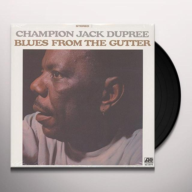 Champion Jack Dupree BLUES FROM THE GUTTER Vinyl Record - 180 Gram Pressing