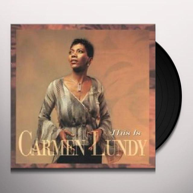Carmen Lundy SOUL TO SOUL Vinyl Record - 180 Gram Pressing