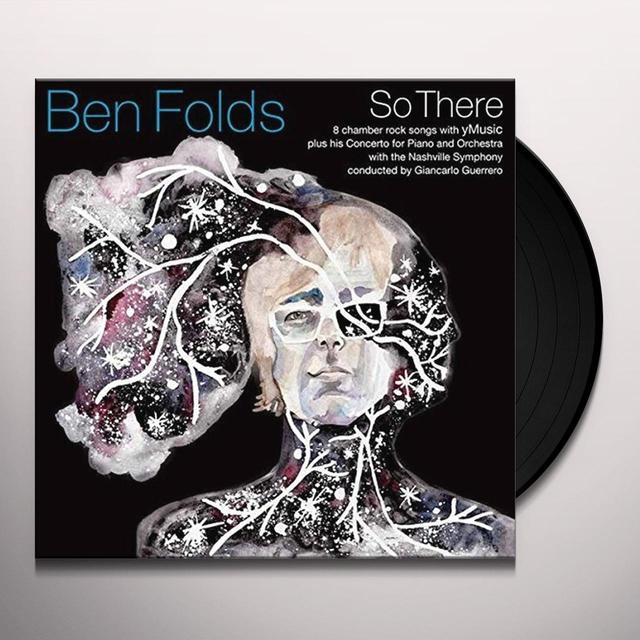 Ben Folds SO THERE Vinyl Record - Digital Download Included