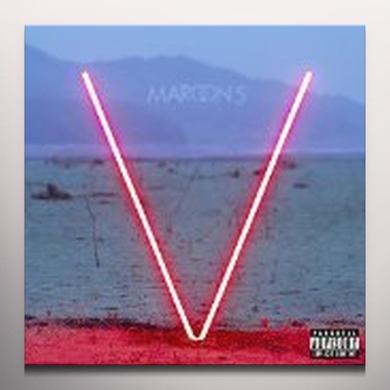 Maroon 5 V Vinyl Record - Colored Vinyl, Red Vinyl
