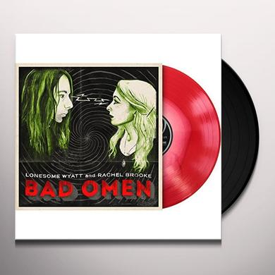 LONESOME WYATT BAD OMEN (VINYL LP WITH DOWNLOAD CARD) Vinyl Record - Digital Download Included