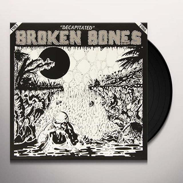 Broken Bones DECAPITATED Vinyl Record - Italy Import