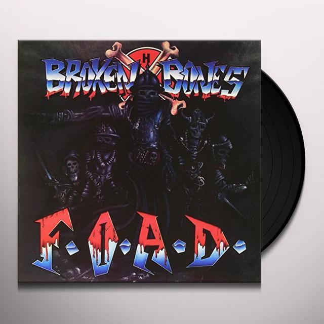 Broken Bones F.O.A.D. Vinyl Record - Italy Release