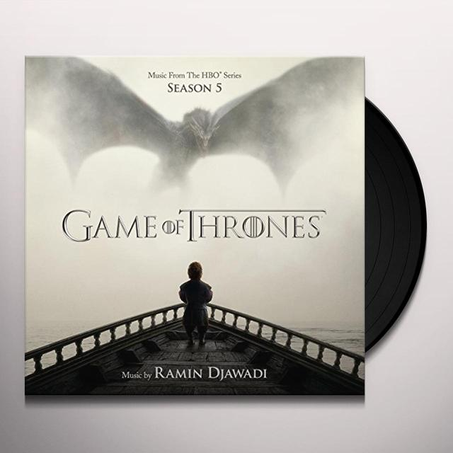 GAME OF THRONES SEASON 5 / O.S.T. (HOL) GAME OF THRONES SEASON 5 / O.S.T. Vinyl Record