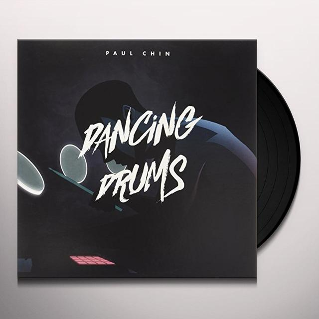 Paul Chin DANCING DRUMS Vinyl Record - UK Import