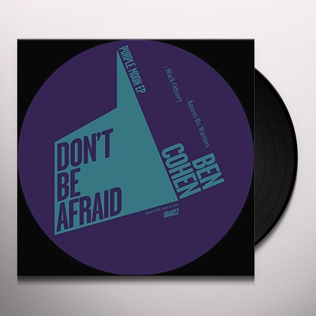 Ben Cohen PURPLE MOON Vinyl Record - UK Import