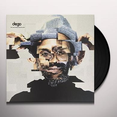 Dego MORE THINGS STAY THE SAME Vinyl Record - UK Import