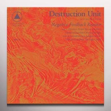 Destruction Unit NEGATIVE FEEDBACK RESISTOR Vinyl Record