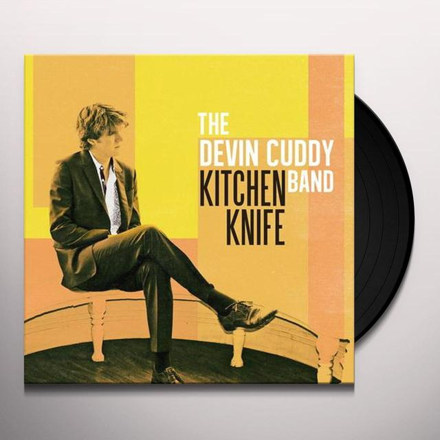 The Devin Cuddy Band KITCHEN KNIFE Vinyl Record - Canada Import