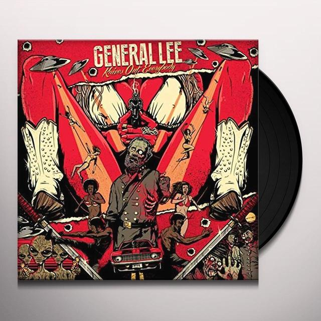 General Lee KNIVES OUT: EVERYBODY Vinyl Record - UK Import