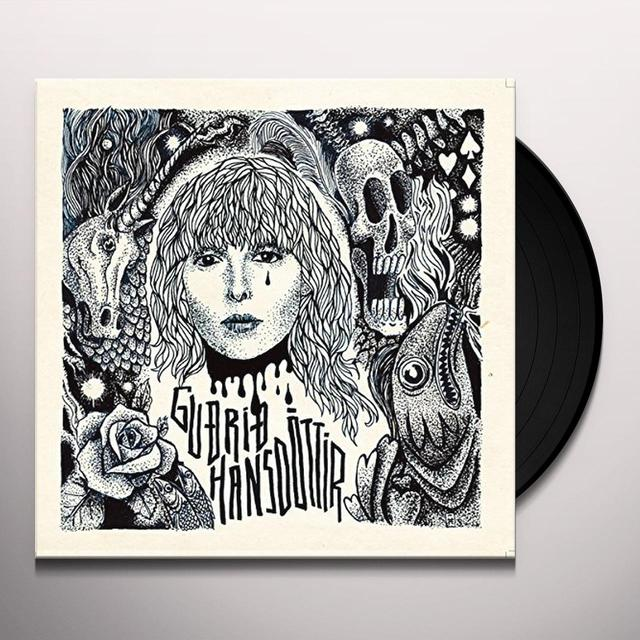 Gudrid Hansdottir LIVING WITH YOU IS A LOT LIKE DYING/ANIMAL Vinyl Record