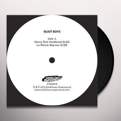 Idjut Boys KENNY DUB HEADBAND Vinyl Record - UK Import