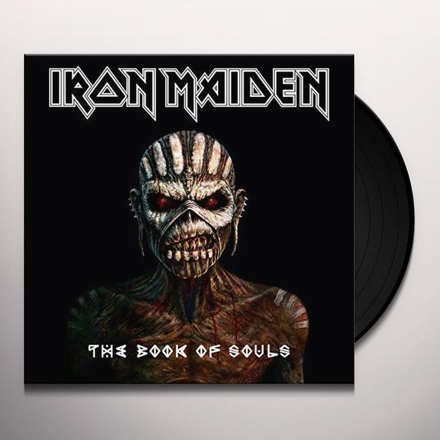 Iron Maiden BOOK OF SOULS Vinyl Record - Canada Import