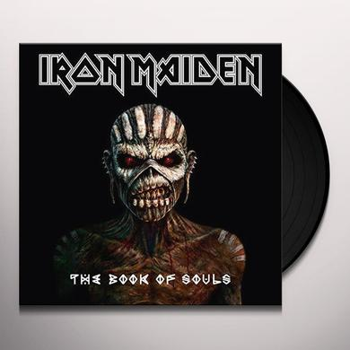 Iron Maiden BOOK OF SOULS Vinyl Record - Canada Import