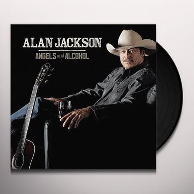 Alan Jackson ANGELS & ALCOHOL Vinyl Record - UK Import