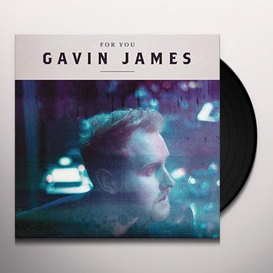 Gavin James FOR YOU Vinyl Record