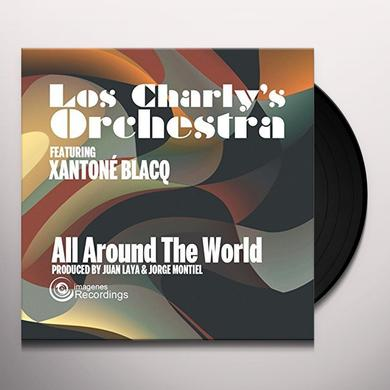 Los Charly'S Orchestra ALL AROUND THE WORLD Vinyl Record - UK Import