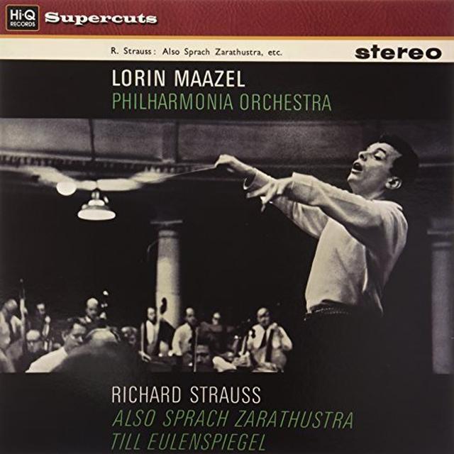 New Philharmonia Orchestra/Lorin Maazel SYMPHONIC POEM PARTS 1 & 2 OP.30/OP.28 Vinyl Record - UK Import