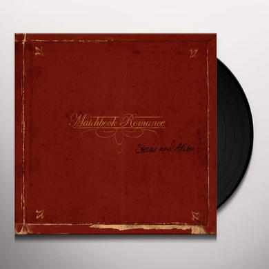 Matchbook Romance STORIES & ALIBIS Vinyl Record - Canada Release