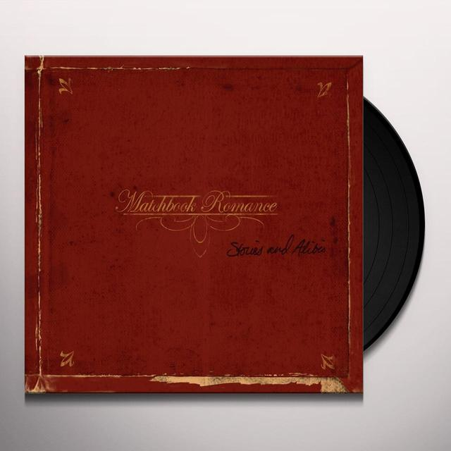 Matchbook Romance STORIES & ALIBIS Vinyl Record - Canada Release