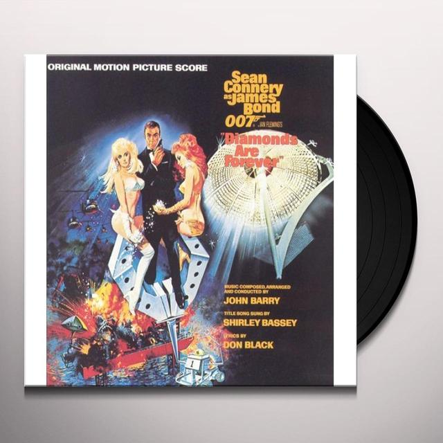 DIAMONDS ARE FOREVER / O.S.T. (CAN) DIAMONDS ARE FOREVER / O.S.T. Vinyl Record - Canada Release