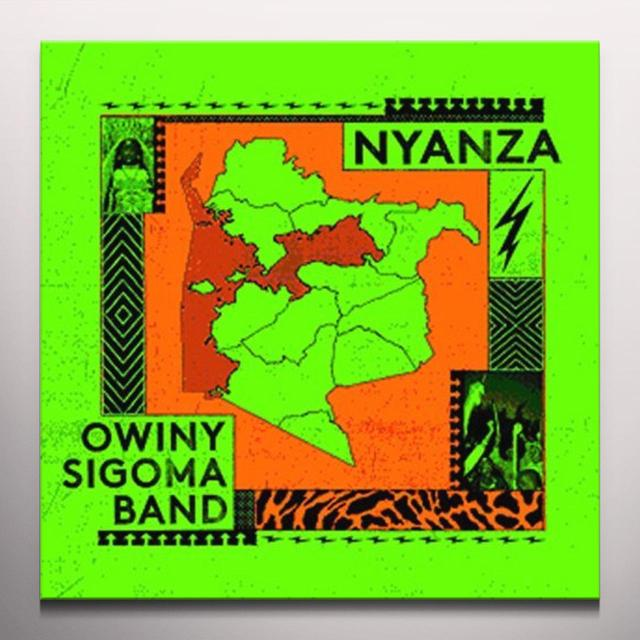 Owiny Sigoma Band NYANZA Vinyl Record - Colored Vinyl, UK Release