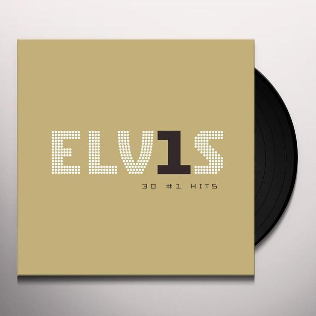 ELVIS 30 #1 HITS Vinyl Record - UK Import