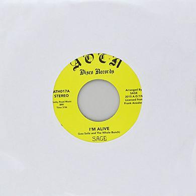 SAGE I'M ALIVE Vinyl Record