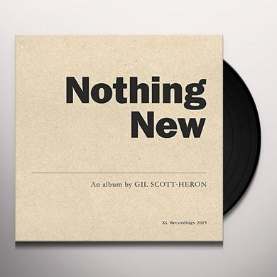 Gil Scott-Heron NOTHING NEW Vinyl Record