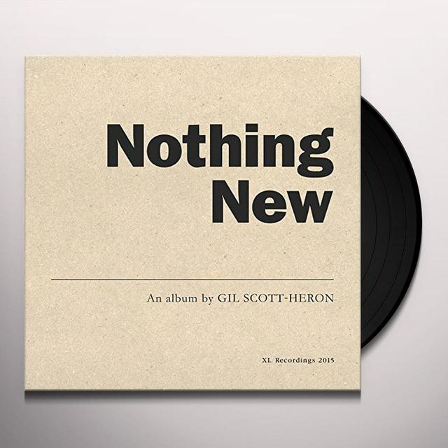 Gil Scott-Heron NOTHING NEW Vinyl Record - UK Import