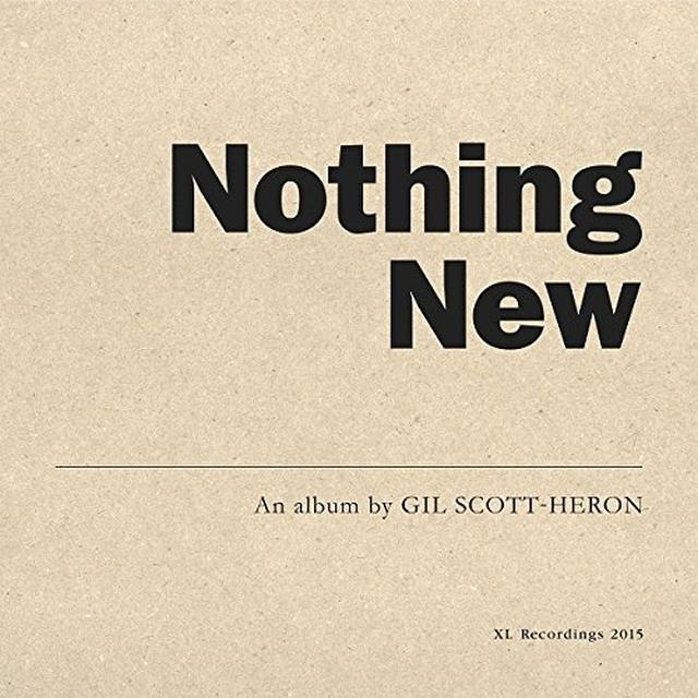 Gil Scott-Heron NOTHING NEW Vinyl Record