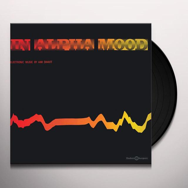 Ami Shavit IN ALPHA MOOD Vinyl Record - UK Release