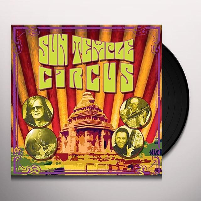 SUN TEMPLE CIRCUS Vinyl Record - UK Import