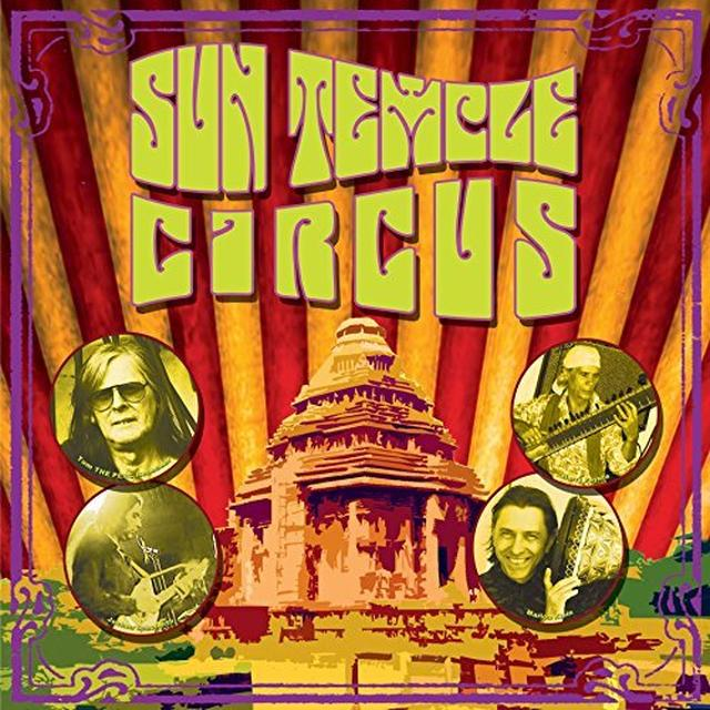 SUN TEMPLE CIRCUS Vinyl Record - UK Release