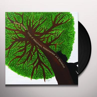 Svavar Knutur SONGS OF WELTSCHMERZ/WALDEINSAMKEIT Vinyl Record - UK Import