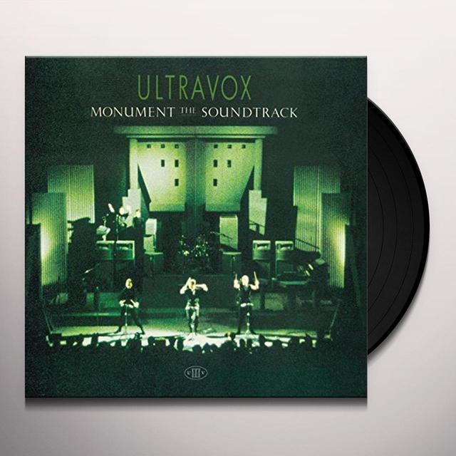 Ultravox MONUMENT Vinyl Record - UK Import