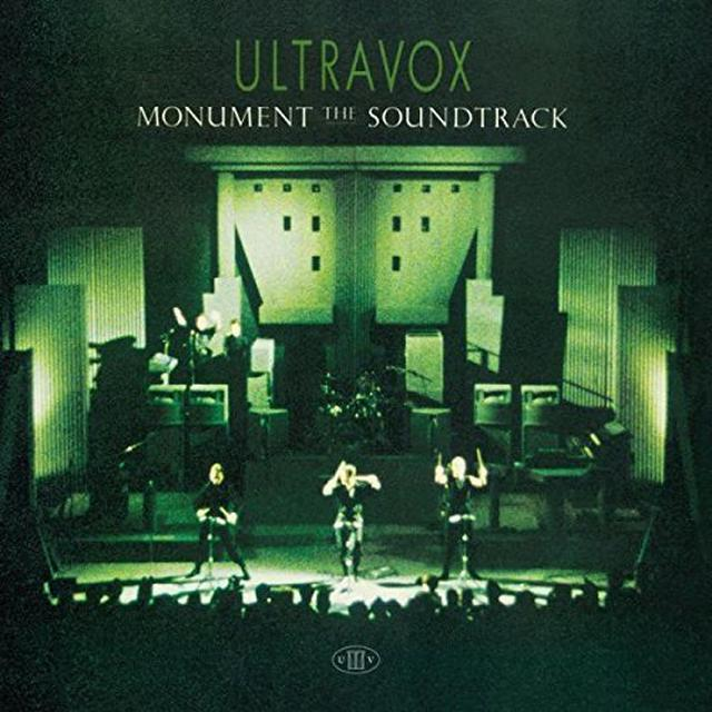 Ultravox MONUMENT Vinyl Record - UK Import