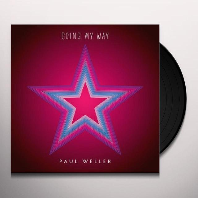 Paul Weller GOING MY WAY Vinyl Record - UK Import