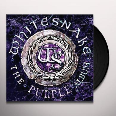 Whitesnake PURPLE ALBUM (BONUS TRACK) Vinyl Record - Limited Edition, Japan Import