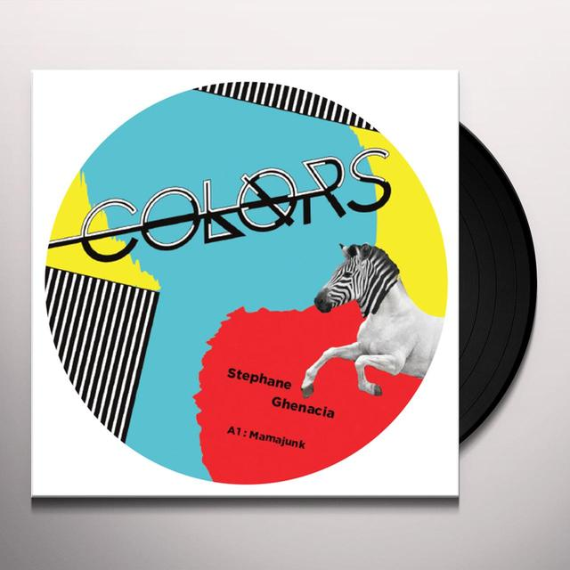 Stephane Ghenacia MAMAJUNK Vinyl Record