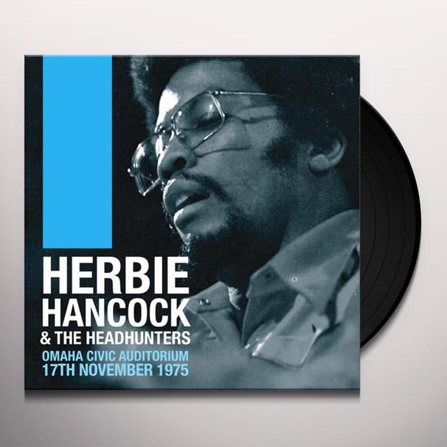 Herbie Hancock & The Headhunters OMAHA CIVIC AUDITORIUM 17TH NOVEMBER 1975 Vinyl Record