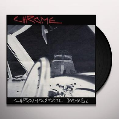 Chrome CHROMOSOME DAMAGE - LIVE IN ITALY 1981 Vinyl Record