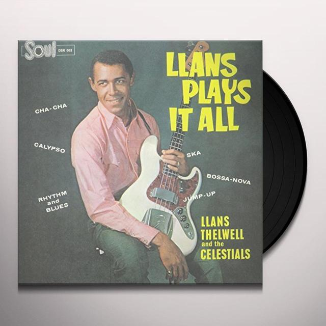 Llans Thelwell And His Celestials LLANS PLAYS IT ALL Vinyl Record