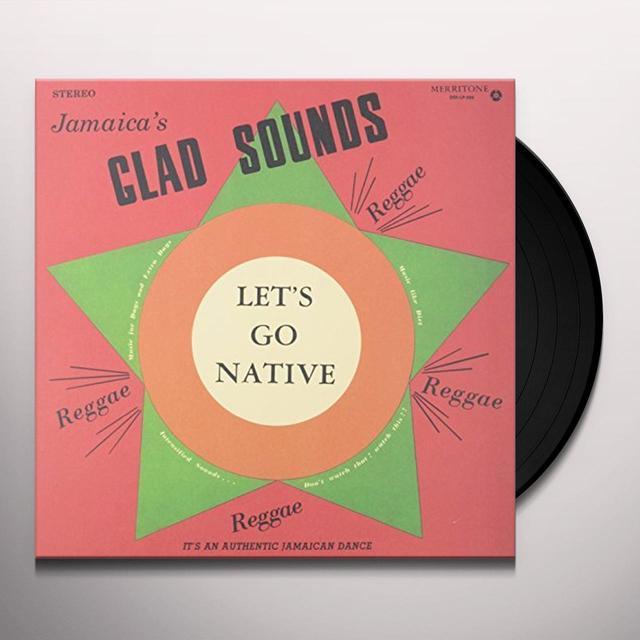 Gladstone Anderson, Lynn Taitt & The Jets GLAD SOUNDS Vinyl Record