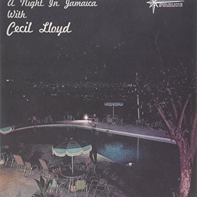 NIGHT IN JAMAICA WITH CECIL LLOYD Vinyl Record
